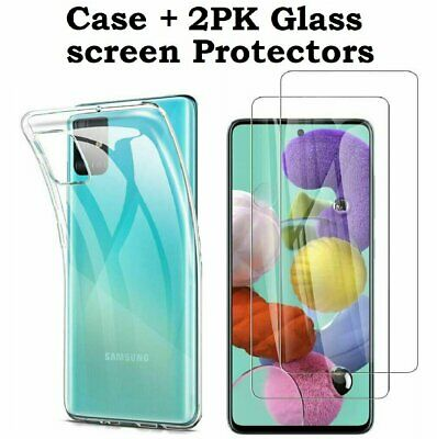 2-Pack Screen Protector + Clear Case Cover for Samsung Galaxy S20 FE 5G Cases, Covers & Skins