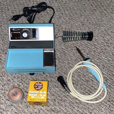 Weller Electronic Control Soldering Station Ec 2000 - Great Condition