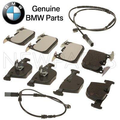 For BMW 328i 335i F30 F32 F34 F36 Front & Rear Brake Pad Sets & Sensors Genuine