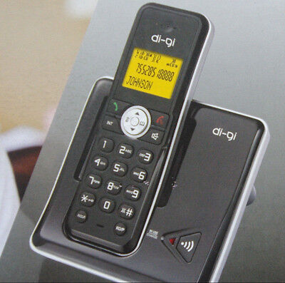 LCD led Cordless Phone  Digital Home  Office Telephone Wireless memory clock ID
