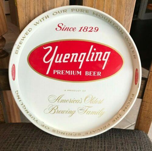 VINTAGE YUENGLING PREMIUM BEER - BREWING CO METAL TIN LITHO TRAY  POTTSVILLE PA