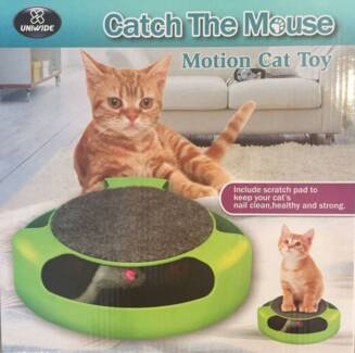 Catch The Mouse Motion Cat Toy Scratchpad Scratching Post North Melbourne Melbourne City Preview