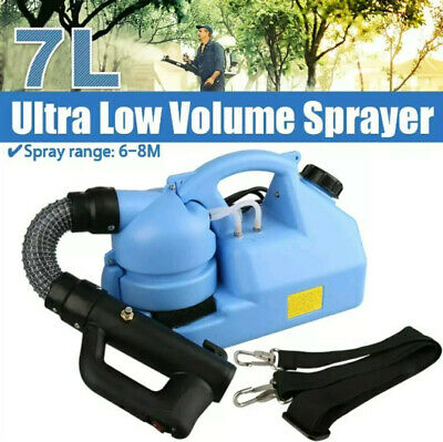 Electric ULV Fogger Fogging Machine sprayer Disinfection, UK COMPANY, UK PLUG