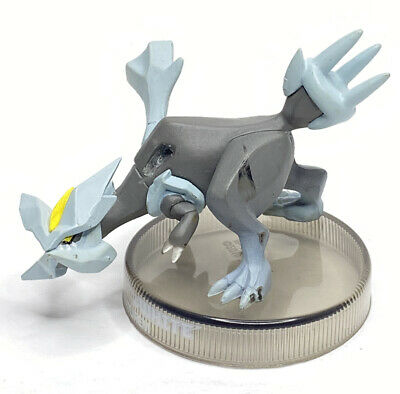 Pokemon Trading Card Game TCG Kyurem Figure Black & White w/ Stand Missing Wing