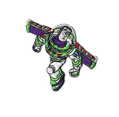 Toy Story - Buzz Lightyear - Movie - Astronaut - Embroidered Iron On Patch  for sale  Shipping to India
