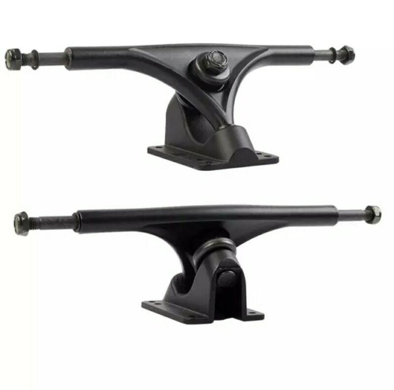 Grizzly Style Black 180mm 52° Longboard Skateboard Trucks