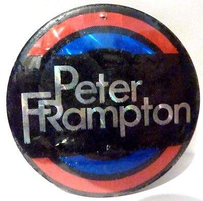 "PETER FRAMPTON Vintage 1970's - 1980's    BADGE **2 ½ """