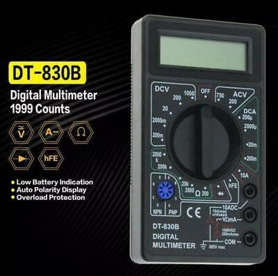 Udigital Voltmeter Ammeter Ohmmeter Multimeter Volt Ac Dc Tester Meter Electrica