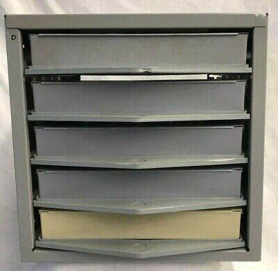 Hillman Hardware Parts Storage Cabinet 5 Drawer Steel Organizer With Drawer Stkr