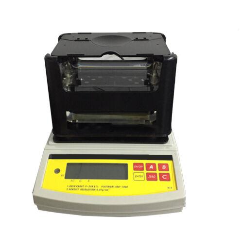 Electronic Gold Purity Tester Density Meter Analyzer Precious Metal Karat Tester