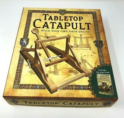 Catapult Kits ( Tabletop Catapult Build your own Siege Engine Includes)
