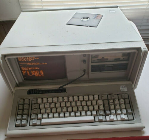 Vintage 1981-ish IBM Portable Personal Computer Model - Fully Working!