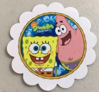 *60* ~ SpongeBob Squarepants ~ Happy Birthday Paper Tags ~ Favor ~ Gift ~ Treat - Happy Birthday Spongebob