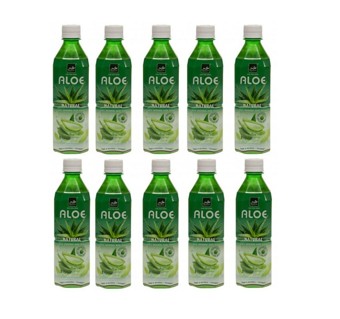 24,90 € per Aloe Vera Tropical Ml500 X10 Bottiglie Bevanda Energetica Vitamine su eBay.it