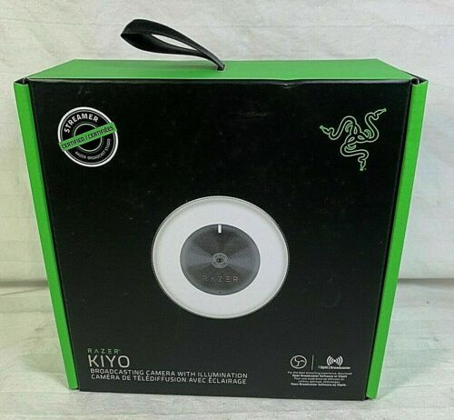 NEW Razer Kiyo Full HD Streaming Camera W/ Ring Light WebCam SHIPS NEXT DAY AIR!