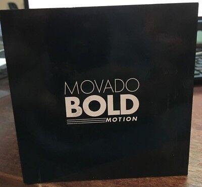 Movado Bold Motion Stainless Steel Smart Watch 3660003 ( New)