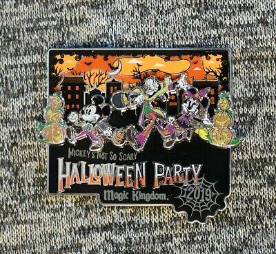 Halloween Party Logo (2019 Mickey's Not So Scary Halloween Party Logo MNSSHP Limited Disney)