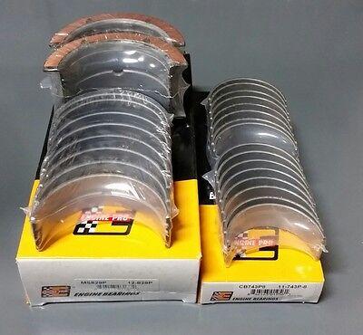 Rod Main Engine Bearings - Engine Pro Rod & Main Bearing Set Chevy 454 STD Bearings