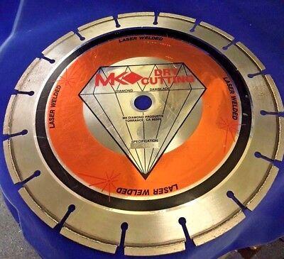 Mk Diamond 12-inch Dry Cutting Segmetned Saw Blade 424d