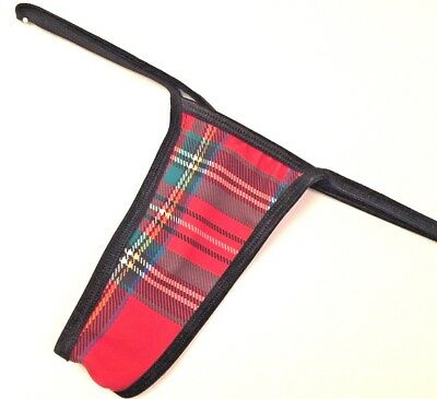 NEW EXOTIC DANCER SCHOOL GIRL RED PLAID THONG MEDIUM/LARGE ALL SIZES IN STOCK](Girls In Schoolgirl Outfits)