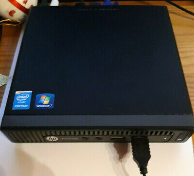 HP Prodesk 600 G1 DM Mini PC 2.6Ghz Dual Core 8G RAM 500GB SSHD Win10 F3U77AV segunda mano  Embacar hacia Mexico