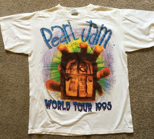 Pearl Jam World Tour Shirt From 1995 Vintage XL