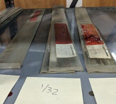 Starrett 3//8 Thick 1-1//4 Wide 18 Long Oil Hardening Flat Ground Stock