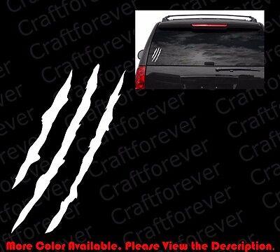 Scratch Claw Monster Halloween Car Window/Vinyl Die Cut Decal Sticker FY050 ()