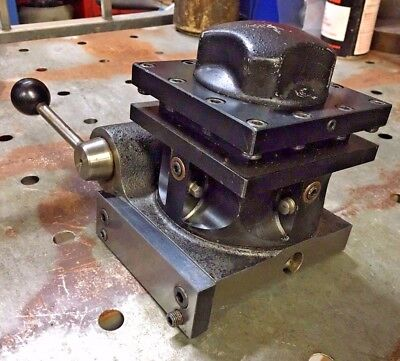 Hardinge L6-b 4 Position Turret Indexing Metal Lathe Tool Post