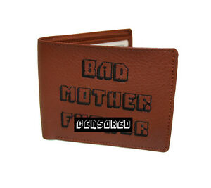 Pulp Fiction Bad Mother F*cker Wallet MoFo Embroidered **FREE SHIPPING**