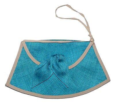 Sac À Main Cérémonie Made In France Femme Mariage Bleu Turquoise Gris Blue Bag