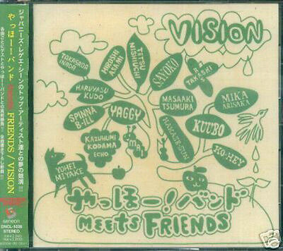 Ya Hoo Band   Meets Friends Vision   Japan Cd New Yahoo
