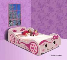 Kids Childrens Pink Girls Race Car Bed Princess Toddler Single Mandurah Mandurah Area Preview