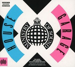 House X Garage Ministry of Sound 3 CD Various Artists