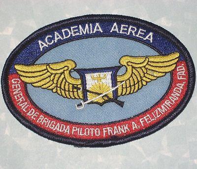 Academia Aerea Patch - General De Brigada Piloto Frank A. Felizmiranda FAD