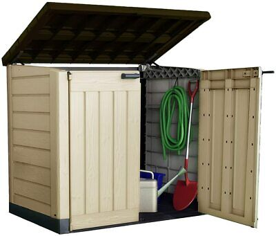 Keter Store-It Out Max Outdoor Plastic Garden Storage Shed, *fast& free delivery