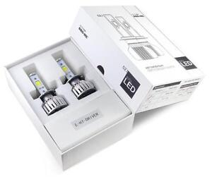 SHO-ME-COB-LED-H4-Hi-Lo-Headlight-Bombillas-Kit-Conversion-2x40W-6000K-7200lm