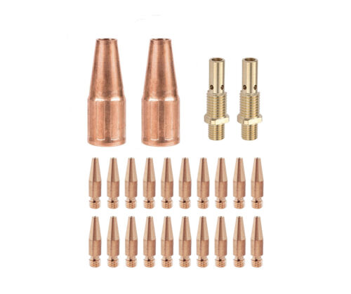 MIG Gun Kit  Fits Lincoln 100L Tweco Mini/#1 Tapered Tip Diffuser Nozzle 21T-37