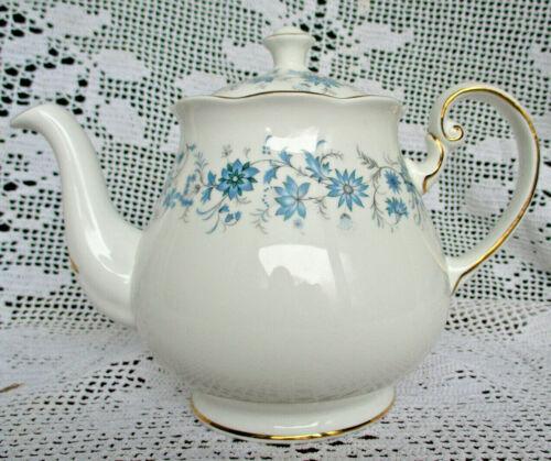 STUNNING COLCLOUGH BRAGANZA GOLD GILT TEAPOT TEA POT BONE CHINA ENGLAND MINT NBU