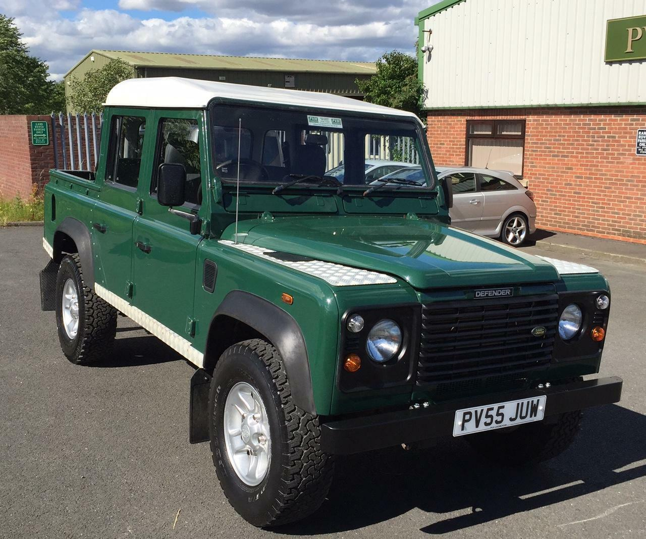 Land Rover Defender 110 Pick Up Double Cab 163 13 995 00
