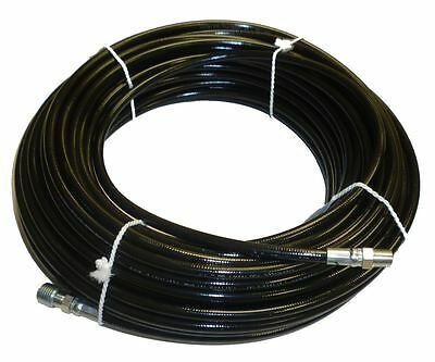 18 X 100 Sewer Cleaning Jetter Hose 4800 Psi