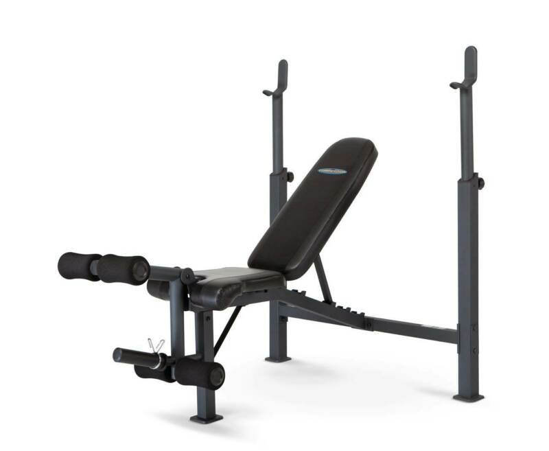 Marcy Competitor Olympic Multipurpose Home Gym Workout Fitness Weight Bench