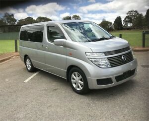 2003 NISSAN ELGRAND low k POWER CURTAIN!!