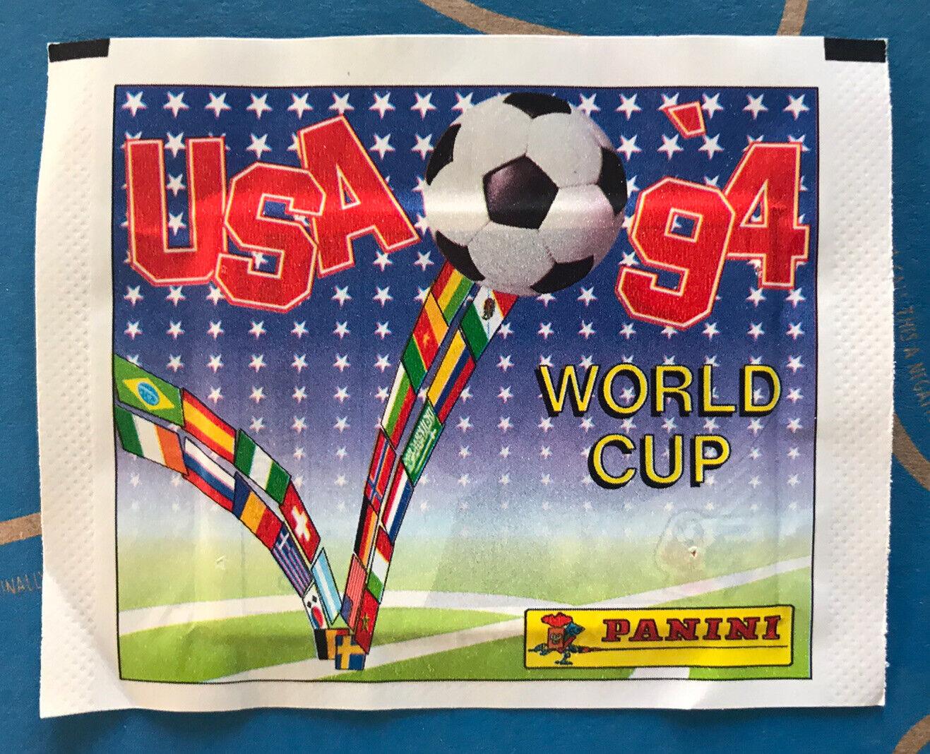 Original pochette bustina stickers panini foot coupe du monde usa 94