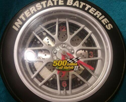 *** Interstate Batteries Tire Wall Clock ***