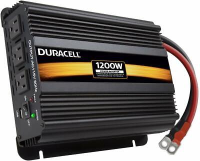Duracell High Power Inverter, 1200 W, Black Alternative Energy Supplies
