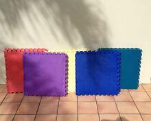 EVA kids foam flooring tiles // various colours 27 in total Bundall Gold Coast City Preview