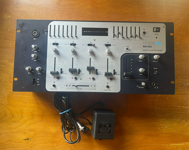 STANTON RM 402 Working Tested Amazing Mixer