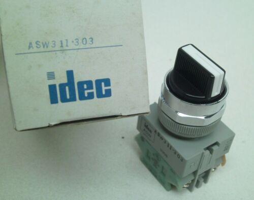 IDEC ASW311-303 TW Series Non-Illuminated Selector Switch 3-Pos 22mm Mount   RC