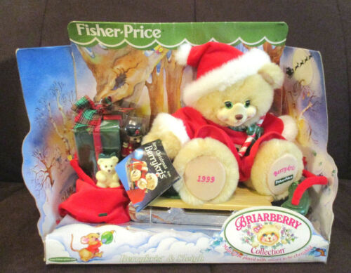 1999 Fisher Price Briarberry Collection Berrykris & Sleigh